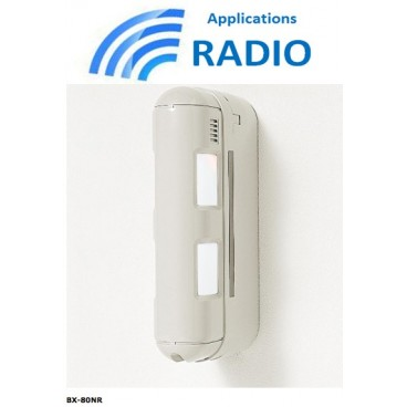 Détecteur infrarouge extérieur BX-80NR OPTEX sans fil