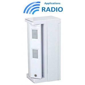 Détecteur infrarouge extérieur FTN-R OPTEX sans fil