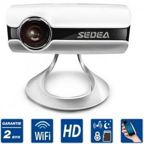 Caméra de surveillance WiFi HD SEDEA