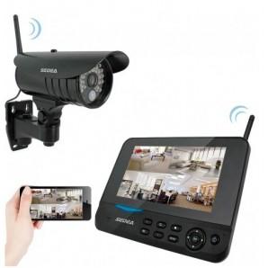 Kit vidéosurveillance sans fil 1 caméra + enregistreur Cam Vision