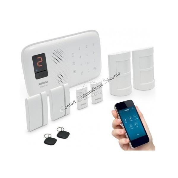 alarme maison compatible animaux latest duune alarme. Black Bedroom Furniture Sets. Home Design Ideas