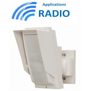 D tecteur infrarouge longue port e ext rieur pour myfox - Detecteur de mouvement exterieur longue portee ...