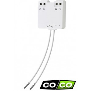 Micro-module ON/OFF ultra-plat 300W, COCO AWMR-300, radio 433,92 MHz