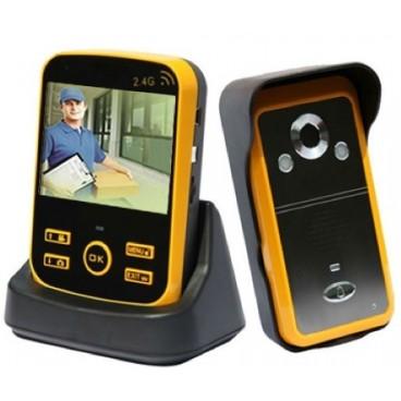 """Portier vidéo interphone sans fil, enregistreur, écran 3,5"""" SF-300"""