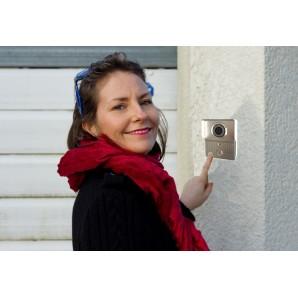 Portier vidéo connecté, interphone vers smartphone