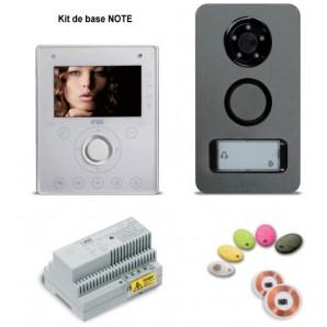 Portier vidéo contrôle d'accès villa Kit NOTE URMET