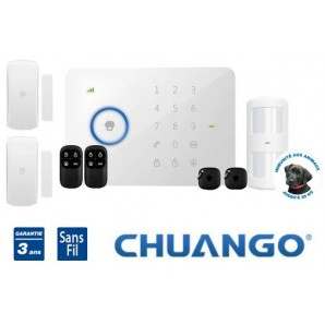 Wireless GSM SMS alarm Chuango G5 for your flat or house