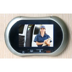 """Judas 3.5"""" 8,75 cm GSM communicant par SMS/MMS, écran tactile et enregistreur"""