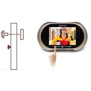 """Judas 3.7"""" 8,75 cm GSM EQUES R12G communicant par SMS/MMS, enregistreur et écran tactile"""