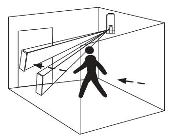 d tecteur rideau infrarouge pour porte fen tre baie vitr e risco rwt106. Black Bedroom Furniture Sets. Home Design Ideas